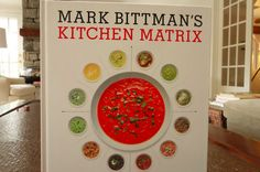 "New on the blog: Mark Bittman's ""Kitchen Matrix"" cooking book. Incredibly interesting."