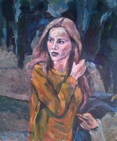 Girl on the street Street, Painters, Artist, Walkway, Artists