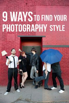 9 ways to find your photography style! via Bella Pop