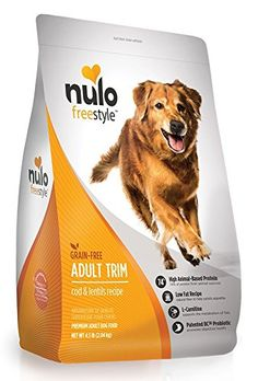 Nulo Grain Free Healthy Weight Dry Dog Food with BC30 Probiotic Cod and Lentils Recipe 24lb Bag -- Click image to review more details. (This is an affiliate link) #doghealthsupplies