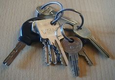 How many keys do you have on your key ring and are they all necessary?