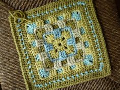 Ravelry: Brighter Daze Square by Melissa Green