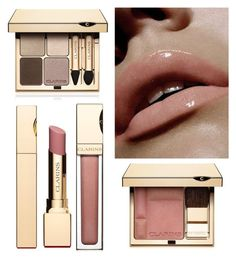 """""""No Makeup Makeup by Clarins"""" by dezaval ❤ liked on Polyvore featuring beauty and Clarins"""