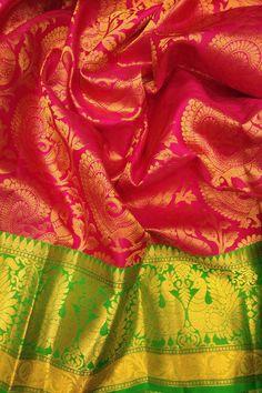 Kanchipuram Saree Wedding, Pattu Sarees Wedding, Bridal Sarees South Indian, Wedding Silk Saree, Latest Silk Sarees, Pure Silk Sarees, Banarsi Saree, Lehenga, Ethnic Sarees