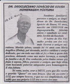 Blog do Rio Vermelho, a voz do bairro: Rio Vermelho tem uma grande dívida com o  Dr. Deoc...
