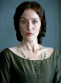 """Gillian Anderson as Lady Deadlock from BBC's Bleak House. Spock"""" look. Best Period Dramas, British Period Dramas, Period Drama Series, Gillian Anderson Young, Downton Abbey Dan Stevens, British Costume, Prime Movies, Bleak House, Tv Series To Watch"""