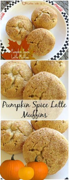 Do you love Pumpkin Spice Lattes?  Get those same flavors in easy to make muffins!