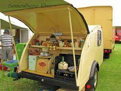 Shabby Chic Meets Vintage Caravan
