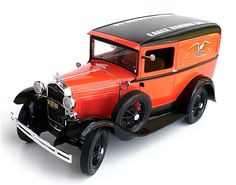 Minicraft's 1/16 scale 1931 Ford Model A Delivery Van.