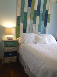 Beach style homes guest bedroom and bathroom- @ Julie  this made me think of you :)
