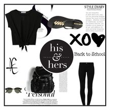 """""""Sem título #384"""" by liasalvatore ❤ liked on Polyvore featuring River Island, IPANEMA and Ray-Ban"""