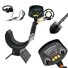 Pro Detector MD-3009II Hobby Upgraded Metal Detectors Treasure Hunter