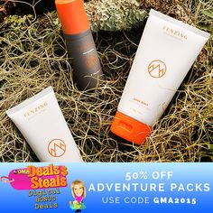 TENZING Skincare is a premium natural men's skincare line based right here in Orlando. It was founded by three local friends who weren't satisfied with the chemical laden products that they found on the market. This morning they were featured on Good Morning America Deals and Steals, and for today only their Adventure Packs are 50% off. Give it a try and let us know what you think! We are certain you will see what makes their product so special. bit.ly/1LCsDec #mensskincare #mensgrooming