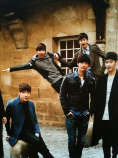 2PM at Paris !  #2pm #kpop