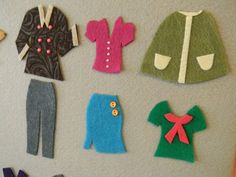 From Dahlias to Doxies: DIY Felt Dress Up Dolls