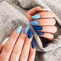 Nails 33 Gorgeous fall nail art design Ideas that perfect . 33 Gorgeous fall nail art design Ideas that perfect for any occasion - autumn nails Fall Nail Art Designs, Beautiful Nail Designs, Summer Acrylic Nails, Cute Acrylic Nails, Acrylic Art, Summer Nails, Pink Nails, My Nails, Pastel Blue Nails