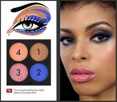 For a longer lasting look apply Motives Eye Base first.