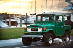1983 Toyota Land Cruiser FJ40 John Deere Green #fjco1983johndeeregreen #fjcompany #fj40 #toyota #landcruiser #fjrestoration