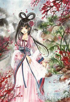 Meihua by cherriuki.deviantart.com on @deviantART
