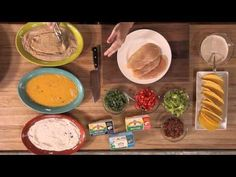 Chicken Bacon Ranch Tacos from @Ree Drummond | The Pioneer Woman  are so simple and so good.