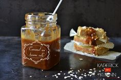 Recette caramel au beurre salé fait maison pour des cadeaux gourmands Gourmet Gifts, Food Gifts, Wine Recipes, Dessert Recipes, Dressing, Christmas Sweets, Christmas 2017, Cake Decorating Tutorials, Sweet And Salty