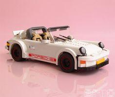 Lego Porsche by Arvo Lego Cars, Lego Auto, Lego Robot, Lego Mecha, Porsche Carrera, Porsche 911 Targa, Porsche Classic, Lego Sports, Amazing Lego Creations