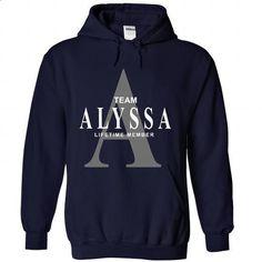 ALYSSA - #silk shirt #tee pee. CHECK PRICE => https://www.sunfrog.com/Names/ALYSSA-2320-NavyBlue-28148877-Hoodie.html?68278