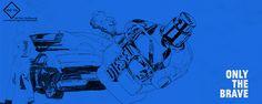 Illustrations For Diesel  Fragrance  Factory by Rui Pedro Esteves, via Behance