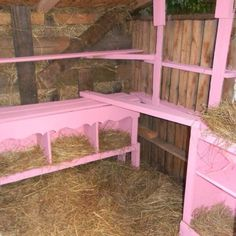 My friend Robin recycle my old kitchen cabinets and made a home for her nesting hens. Eco friendly, thrifty and cute!
