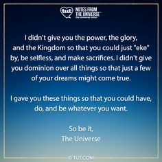 Mike Dooley, Affirmation Quotes, Dreaming Of You, Affirmations, Universe, Relax, Cooking, Quotes Positive, Cosmos