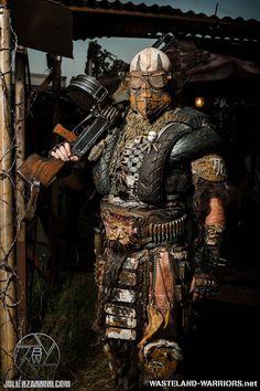 Wastelander Portraits: the Immortal Warlord by Wasteland-Warriors on deviantART