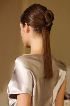 Sleek Look #ponytail