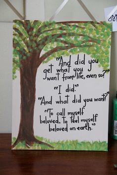"Custom Scripture or Quote Painting - 11""X14"" Canvas"