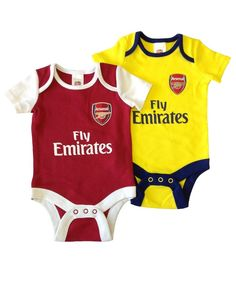 93239a160 Arsenal Baby Core Kit 2 Pack Bodysuits
