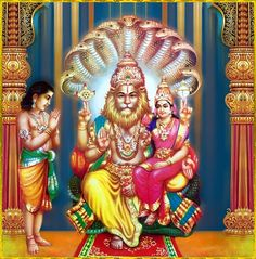 Śri Śri Laksmi-Nrisimha & Prahlad Maharaj