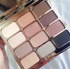 Eyes are the window. Stila pallete. Soul