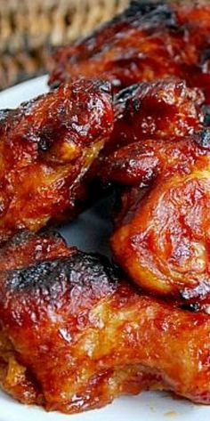 Honey BBQ Wings Honey Bbq Wings, Grilling Recipes, Cooking Recipes, My Favorite Food, Favorite Recipes, Chicken Wing Recipes, Turkey Recipes, Appetizer Recipes, Great Recipes