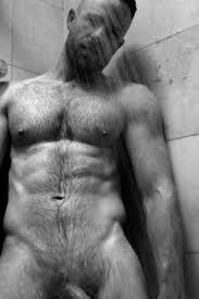 Hairy Men Shower 31
