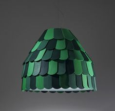 Roofer Pendant Light by Benjamin Hubert for Fabbian #lamp #scales #modular
