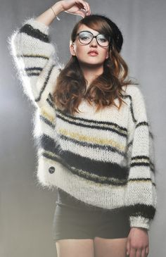 Josy Pullover - Big knits from the handmade knitwear label Maurice.