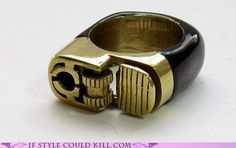DO WANT. Lighter Ring