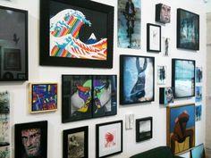 Tarek rejoint la Galerie Collectie à Paris by Tarek Ben Yakhlef AKA Tarek, via Behance