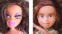 Artist Recreates Bratz Dolls Without Makeup