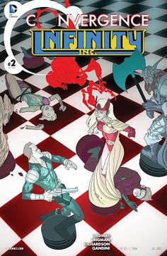 Weird Science: Convergence: Infinity Inc. #2 Review
