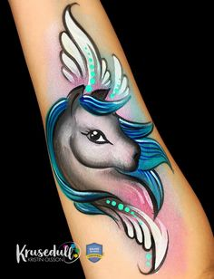 Pony face paint