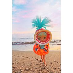 Etsy の blythe doll print aceo size ENDLESS SUMMER by boopsiedaisy