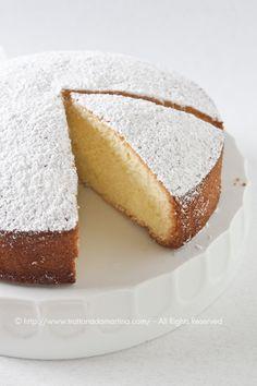 Torta paradiso- Trattoria da Martina - cucina tradizionale, regionale ed etnica