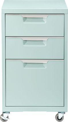 TPS mint file cabinet   CB2