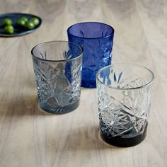 Bottoms Up! 20 Gorgeous Glasses You'll Want to Drink from Every Day via Brit + Co