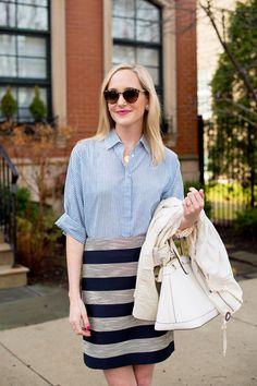 Kelly In The City | LOFT Stripes